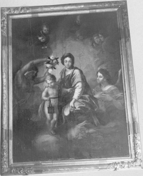 tableau, cadre : Vierge à l' Enfant