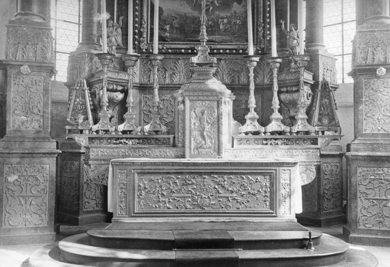autel , chandeliers (6)