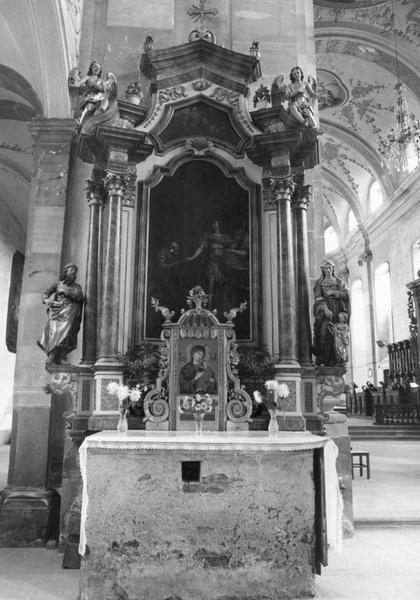 autel : de saint Oswald