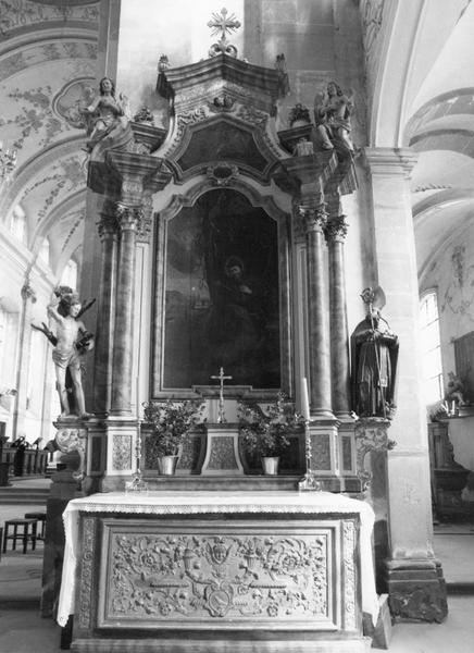 autel : saint Gilles
