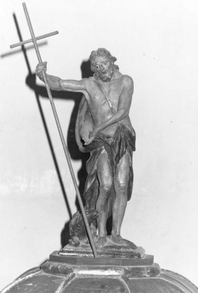 statue (statuette) : saint Jean-Baptiste