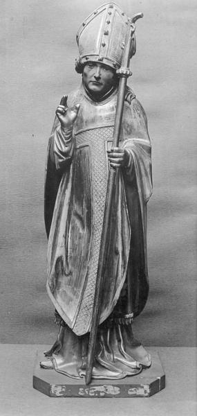 Statue : saint Remi de Reims