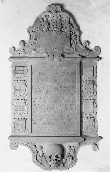 Monument sépulcral, de Frédéric Casimir de Rathsamhausen
