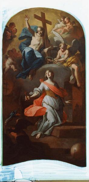 tableau : apothéose de sainte Marguerite