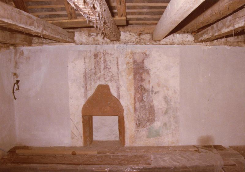 peinture monumentale (vue générale du mur peint)