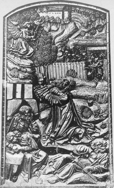 bas-relief : Jardin des oliviers