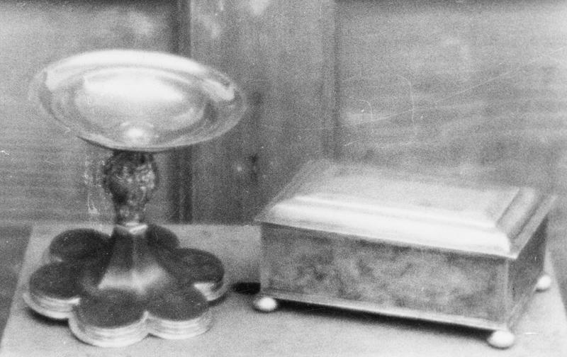 boîte pour le pain de la communion