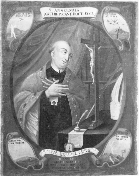 tableau : saint Anselme