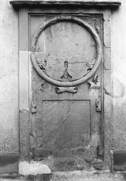 dalle funéraire de Conrad III Joham de Mundolsheim