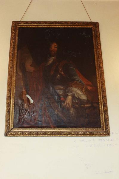 tableau, cadre : portrait de Louis XIV