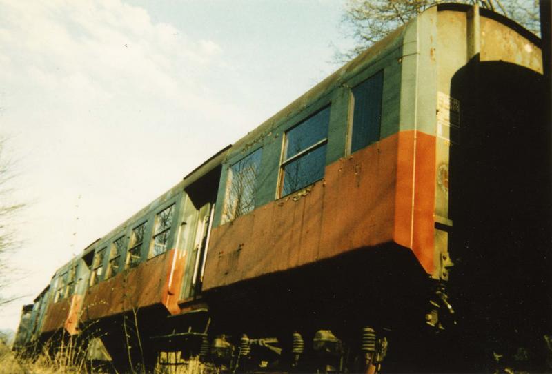 rame de 3 voitures de voyageurs type Romilly, B9 1/2 T 2907439