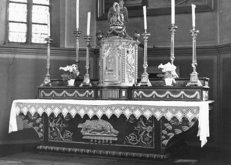 tabernacle (vue d'ensemble du maître-autel)
