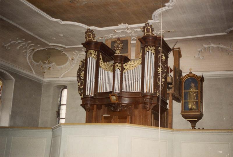 buffet d'orgue (vue d'ensemble)