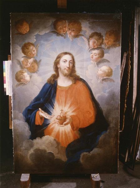 tableau, cadre : Sacré-Coeur