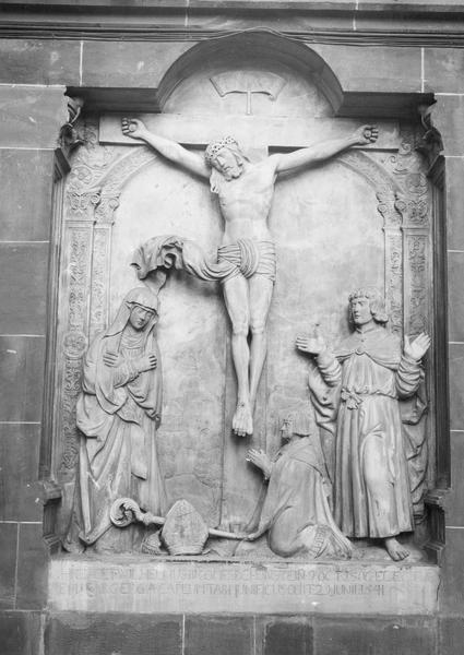 dalle funéraire de l'évêque Guillaume de Honstein