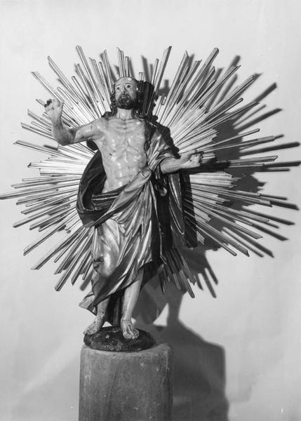 statue de procession : Christ aux stigmates