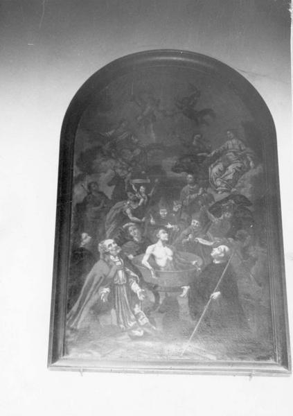 tableau : les quatorze saints intercesseurs