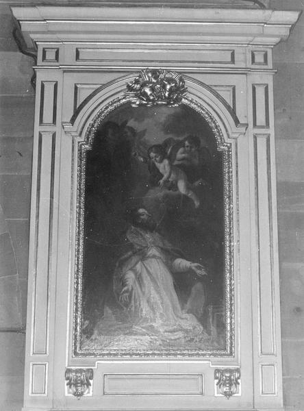 autel, gradin, retable, tableau (autel secondaire) : de saint Jean-Baptiste