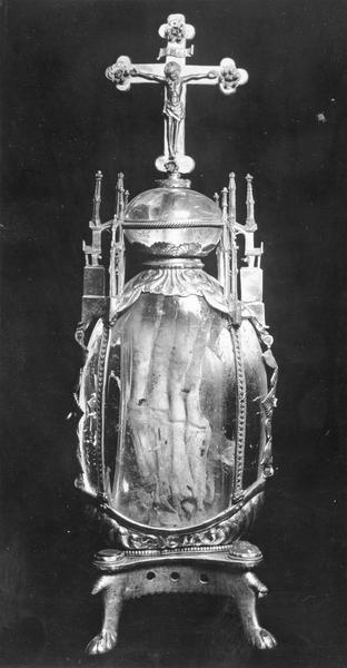 reliquaire-monstrance : la légende de sainte Attale