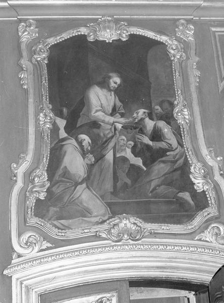Tableau : la communion des apôtres