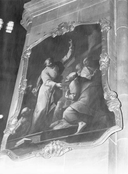 tableau : la remise des clefs à saint Pierre