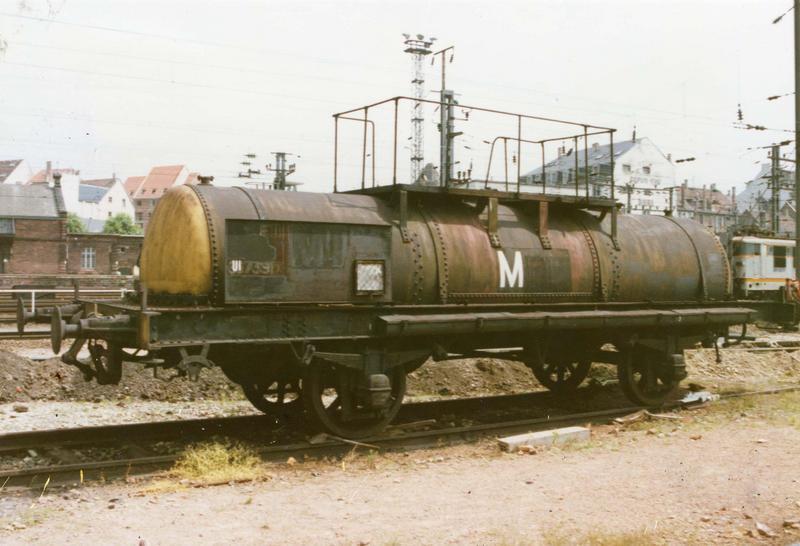 wagon citerne à deux essieux parallèles, à voie normale, SC 967391 (V1)