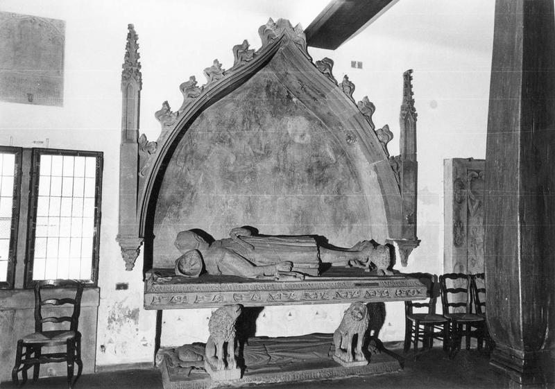 monument sépulcral (double gisant), des comtes Philippe et Ulrich de Werd