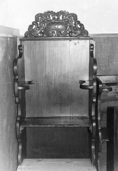 siège (siège d'officiant)