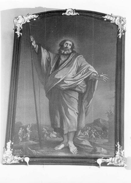 tableau, cadre : Saint Simon