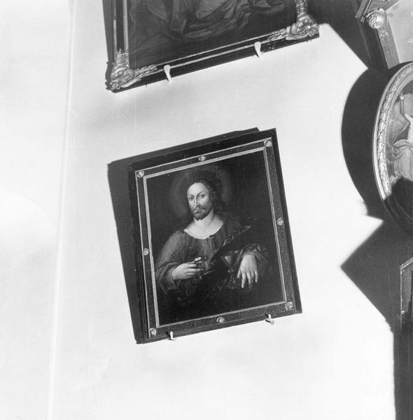 tableau, cadre : le Christ de la sainte Cène