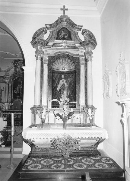 autel, retable : Sacré-Coeur