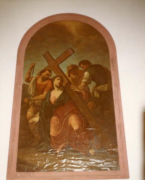 tableau : Portement de croix (Le)