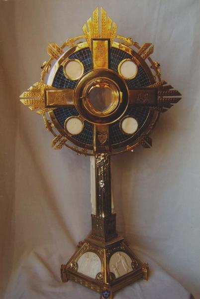 ostensoir-soleil de sainte Odile, vue générale