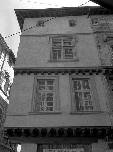 Angle des étages supérieurs