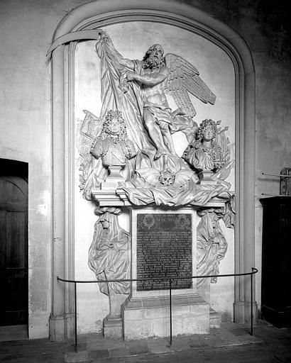 Tombeau en pierre et marbre de François d'Escoubleau, Marquis de Sourdis et de Charlotte d'Avaray