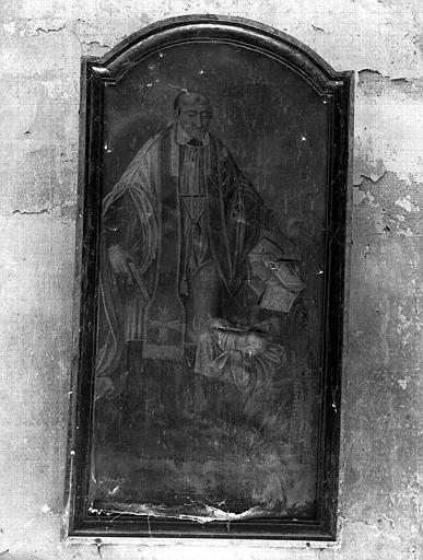 Saint Vincent de Paul, peinture sur toile