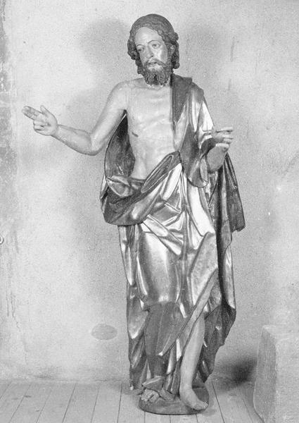 statue : Christ glorieux, vue générale