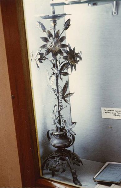 chandelier, dit chandelier aux fleurs de la Passion, vue générale