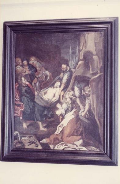 tableau : la Déploration du Christ, vue générale