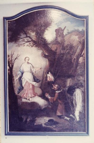 tableau : l' Apparition de la Vierge des Trois Epis à Thierry Schoere, vue générale