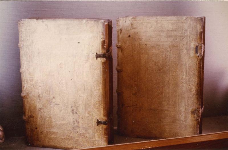 livres (2) : les origines d'Adam, vue générale