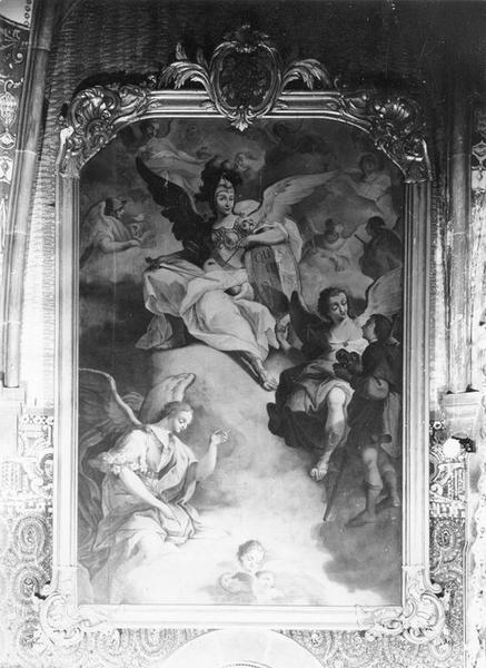 tableau, cadre : Tobie et les trois archanges, vue générale