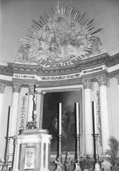 autel, tabernacle (maître-autel), vue partielle