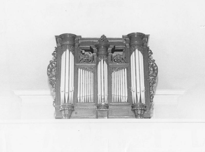 orgue de tribune : buffet d'orgue, vue générale