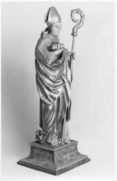 statue : saint Apollinaire, vue générale