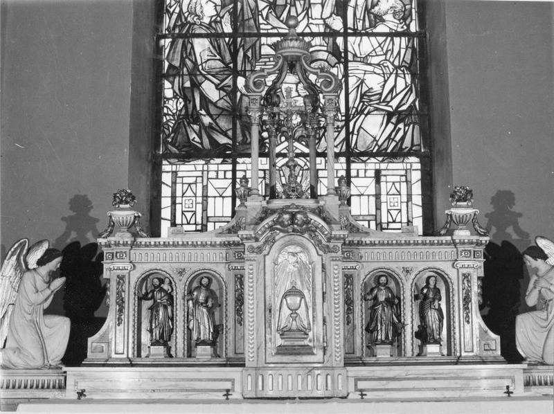 tabernacle (tabernacle à ailes), vue générale