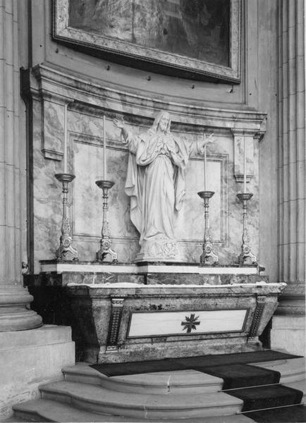autel du Sacré-Coeur, vue générale