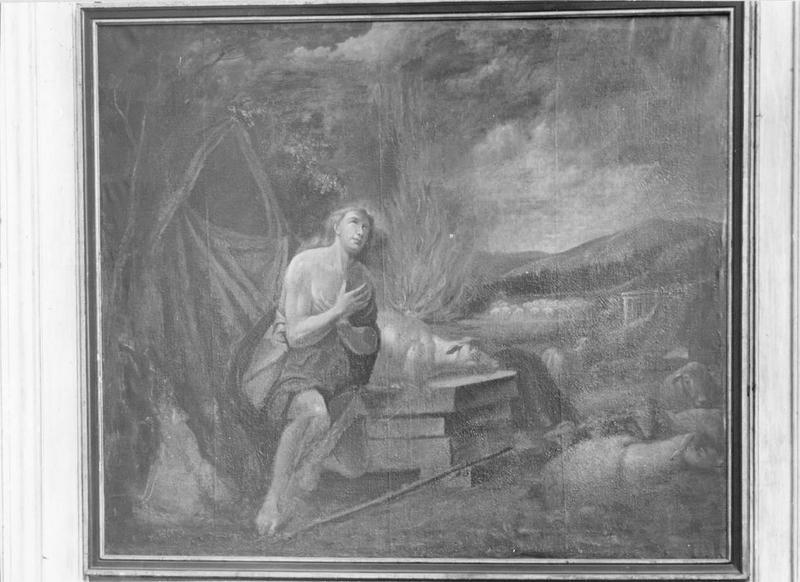 tableau : oblation d'Abel, vue générale