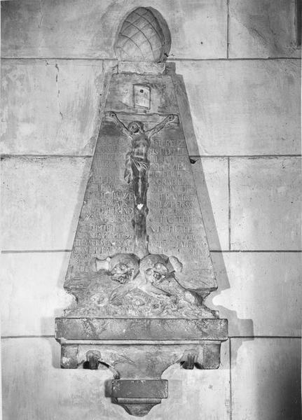 monument sépulcral, de Johann Georg Henner et de sa femme Margaretha Bihner, vue générale