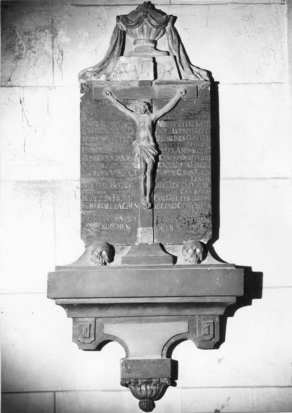 monument sépulcral, de Franz Joseph Stoll et de son épouse Rosa Sitterlin, vue générale